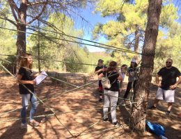 Team Building Activity in Troodos Cyprus