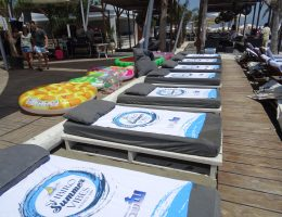 corporate beach party in cyprus