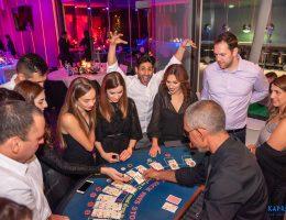 casino night - planning corporate event
